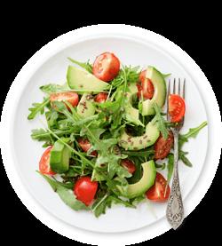 vegetarischer-ernaehrungsplan-salat