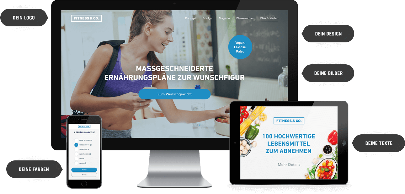 Upfit Whitelabel Partnerschaft