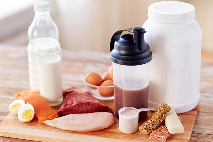 muskelmasse aufbauen ernährung lebensmittel