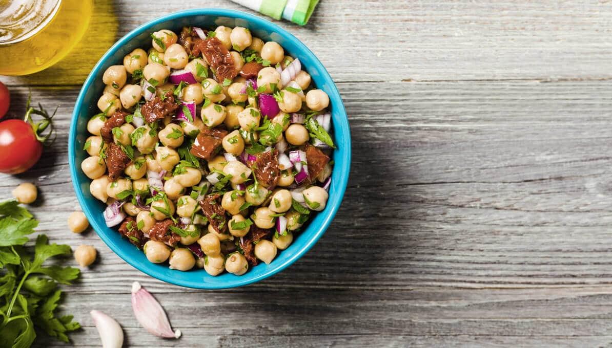 Upfit Couscous Kichererbsen Salat