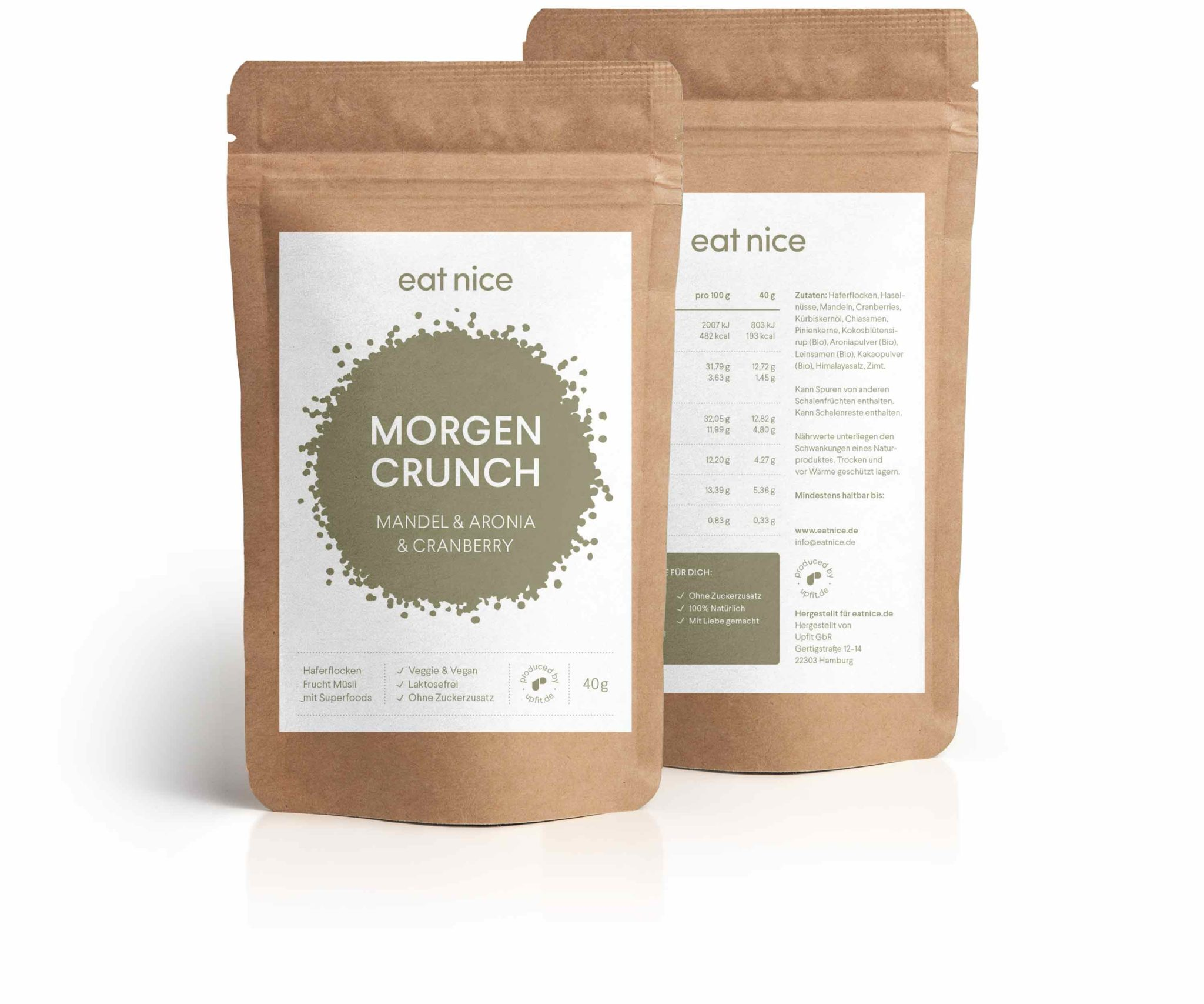 Eat Nice Morgencrunch Muesli Granola