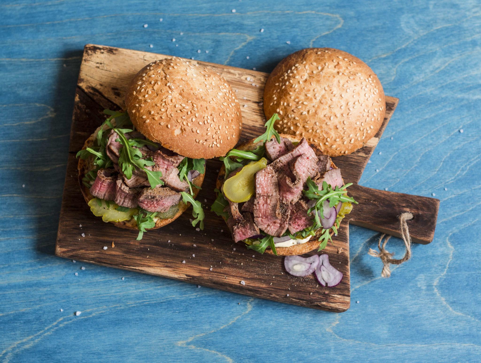 Upfit classic Steak Burger